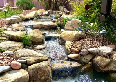 Backyard Pondless Waterfall