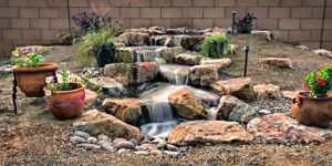 Pondless Rock Waterfall