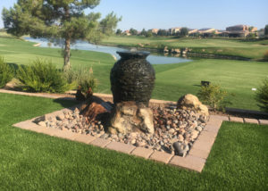 Golf Course Pond and Water Feature