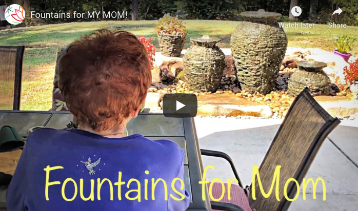 It's a family affair to build this Fountain!